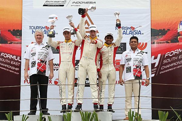 Formula 4 SEA Sentul F4: Gowda takes two podium finishes, Nalwalla gets double top five