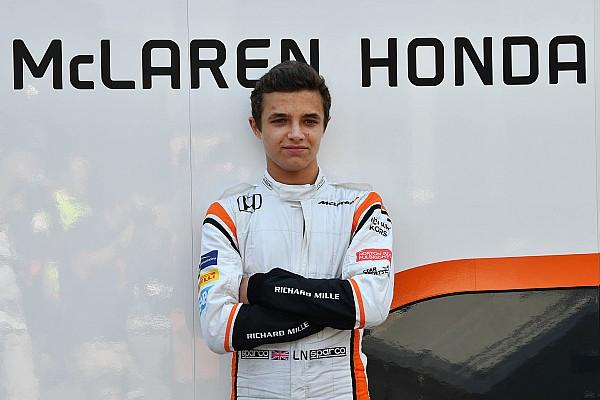 Формула 1 Новость Норрис нацелился провести сезон-2018 в Ф2 или Суперформуле
