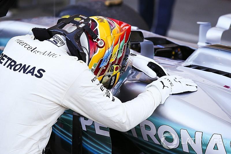 """Button: """"Hamilton heeft dit jaar het geluk dat hij in 2016 niet had"""""""