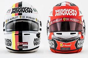 2019 Formula 1 pilot kaskları