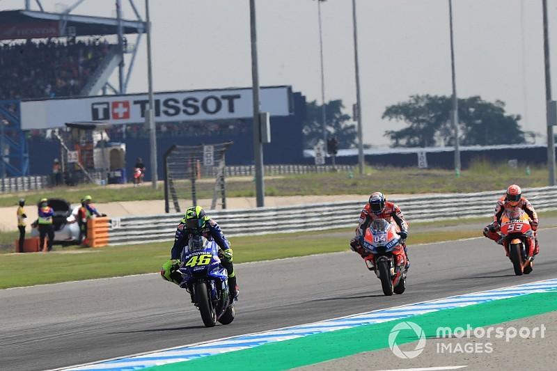 Rossi pinta Yamaha tak cepat puas usai Buriram