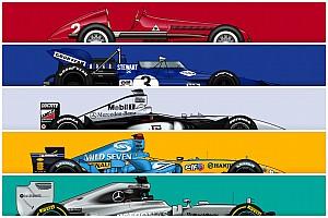 """F1で""""成功""""を収めたマシンたち。10勝以上を挙げた名車ピックアップ"""