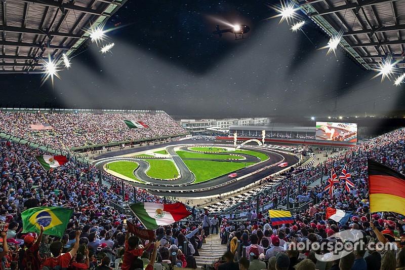 Le circuit du GP de Mexique de F1 hôte de la Race of Champions 2019