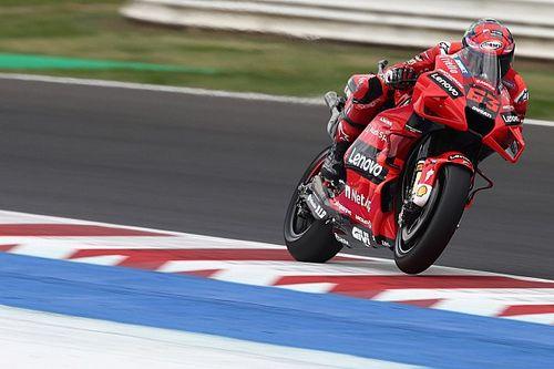 Misano MotoGP 3. antrenman: Bagnaia, Quartararo'nun önünde lider, Marquez kaza yaptı