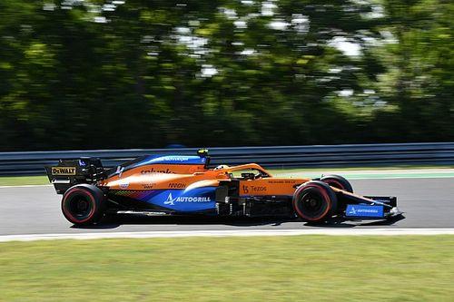 McLaren se derritió en el viernes del Hungaroring