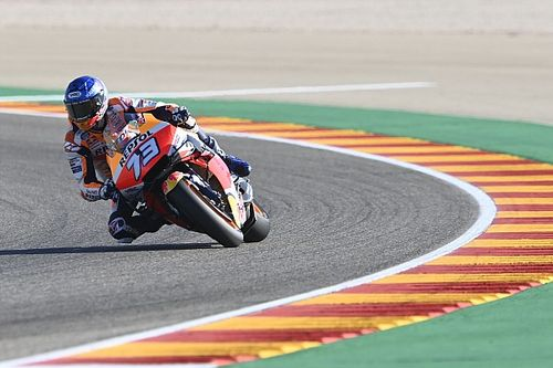 "Marquez ""needs to be lucky"" to mount Teruel podium charge"