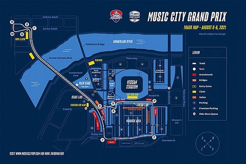 Nashville IndyCar street race confirmed for August 2021