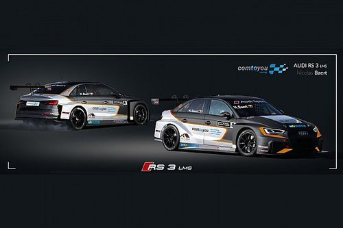 TCR Europe: Comtoyou conferma una Audi per Nicolas Baert