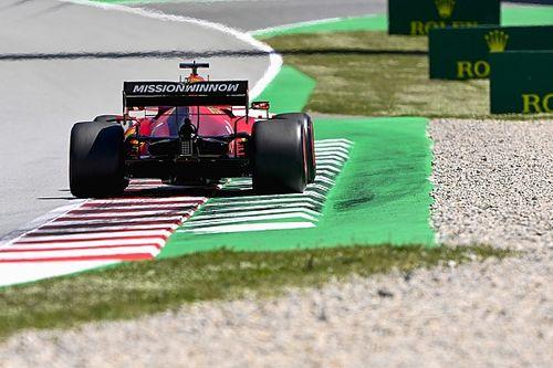 Ferrari, Sainz y Leclerc piden sencillez para los límites de pista