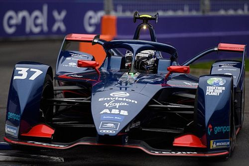 Rome E-Prix: Cassidy storms to maiden pole in wet qualifying