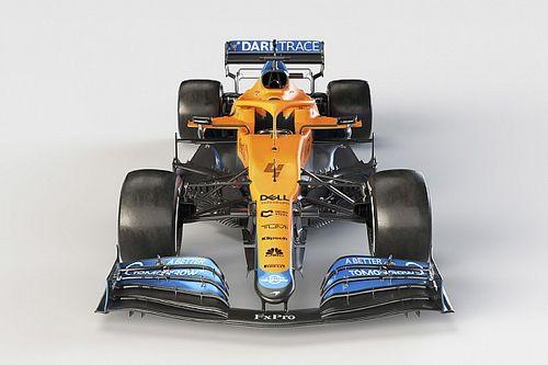 McLaren MCL35M: ma quanto è stretta nelle fiancate!