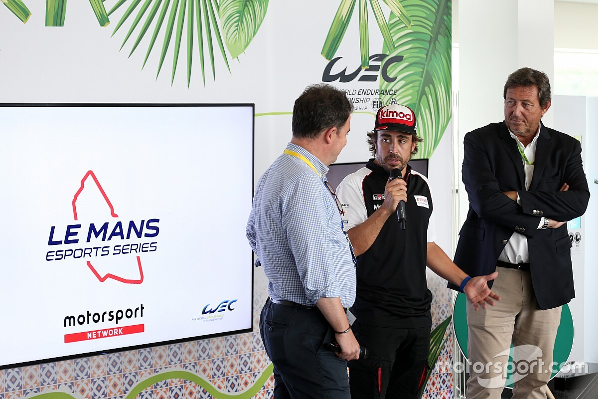 Fernando Alonso: Le-Mans-eSports-Serie wird