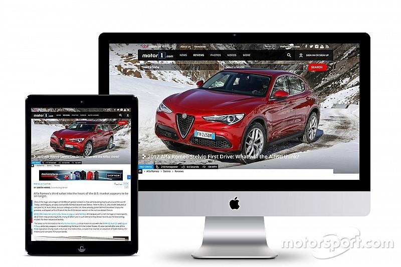 Motor1.com запускает издание в Великобритании