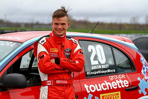 Nissan Micra Cup Breaking news Austin Riley set to compete in the 2017 Nissan Micra Cup