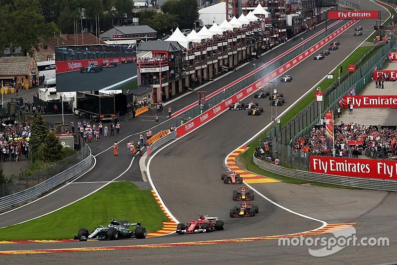 Hoe laat begint de Formule 1 Grand Prix van België?