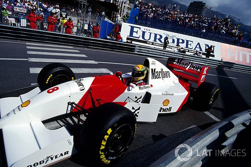 ecclestone buys senna 39 s monaco winning mclaren. Black Bedroom Furniture Sets. Home Design Ideas