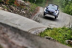 WRC Yarış ayak raporu Finlandiya WRC: Tanak ralliye lider başladı