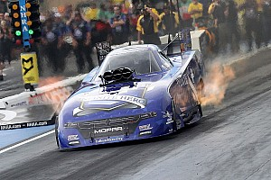 NHRA Qualifying report Beckman wins Funny Car Traxxas Nitro Shootout