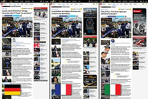 General Motorsport.com news Motorsport.com launches tri-language Swiss edition