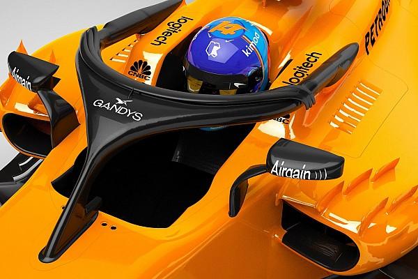 Formula 1 Breaking news Halo McLaren disponsori sandal jepit Gandys