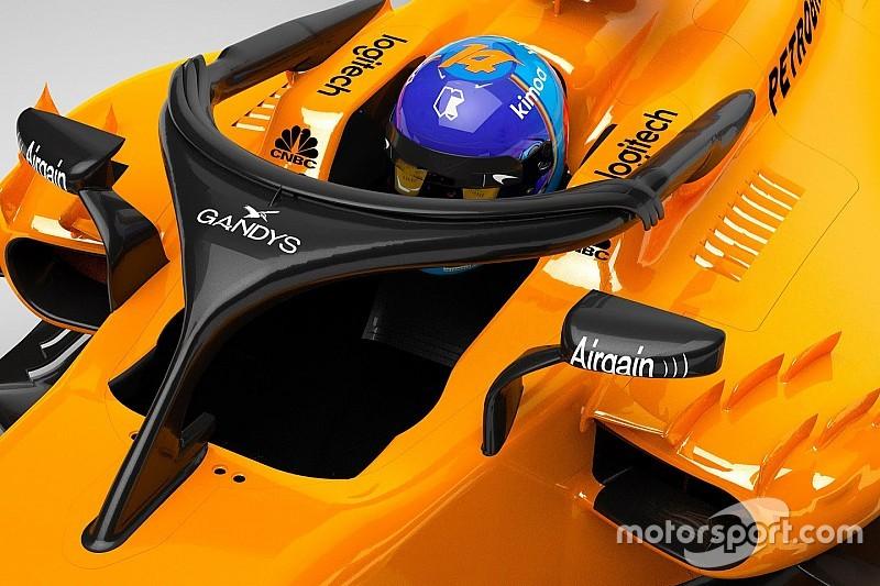 McLaren anuncia patrocínio de chinelos em seu halo