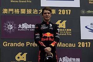 F3 Europe Breaking news Red Bull's Ticktum announces Motopark F3 move