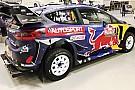 WRC Ogier y Tanak, con una decoración de Autosport para el Rally de Gales