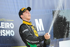 Brasileiro de Turismo Relato da corrida Rimbano vence prova agitada do Turismo em Interlagos