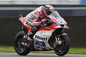 MotoGP Qualifying report Assen MotoGP: Dovizioso beats Rossi to pole, Lorenzo to start 10th