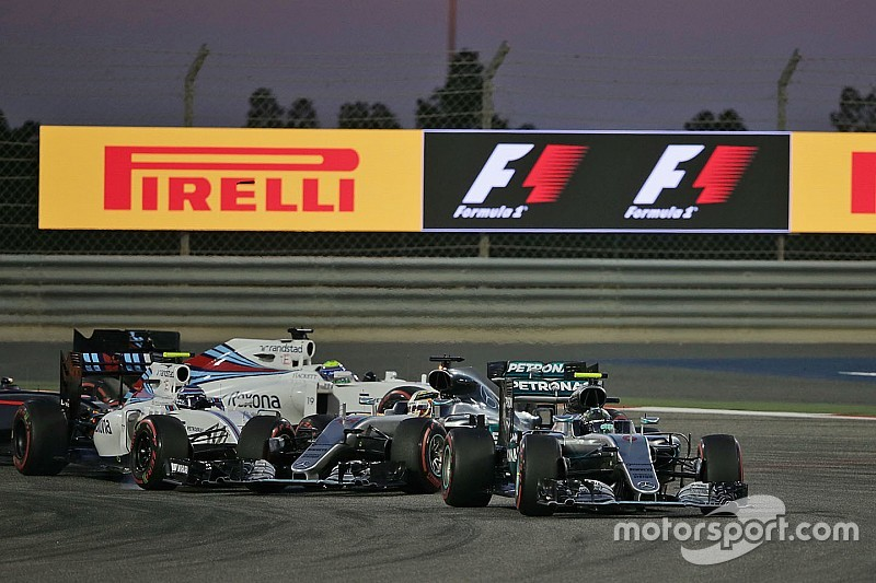 Bottas admits he braked too late in Bahrain GP start