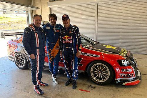 Sainz duo test Bathurst-winning Supercars Holden