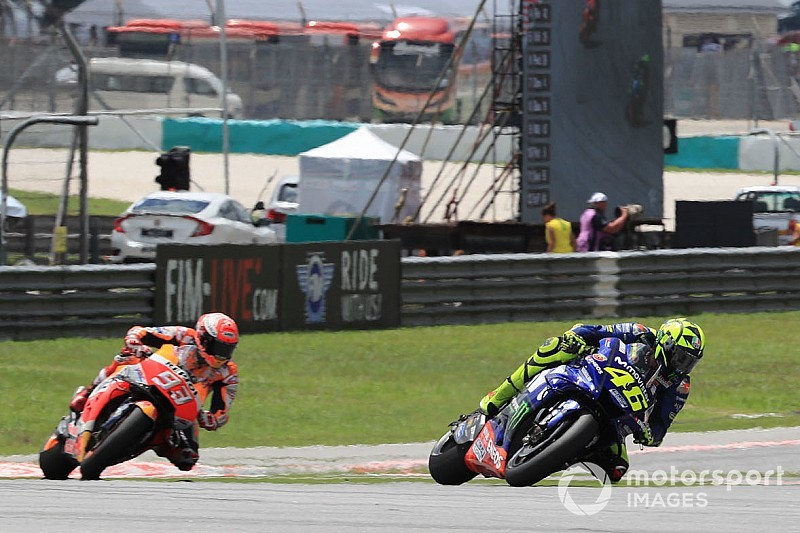 Marquez: Rossi ile savaşta daha fazla performansım yoktu