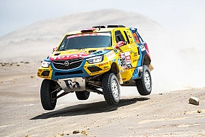 Pályafutása legjobb eredményével zárta a Dakart a Szalay-Bunkoczi kettős