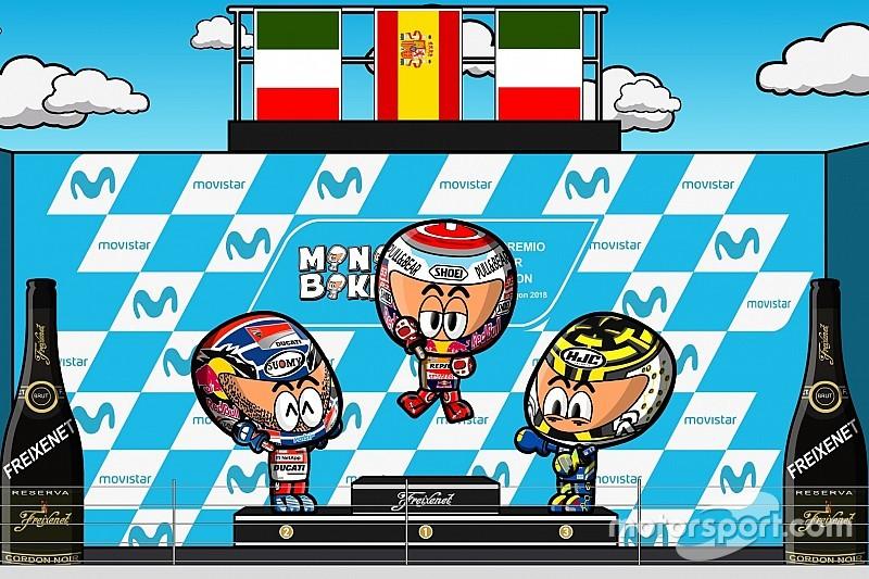 VIDEO: el GP de Aragón 2018 de MotoGP, por MiniBikers
