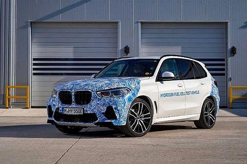 Hidrogéncellás X5-öst tesztel a BMW