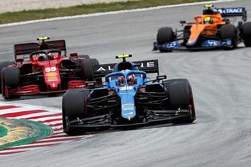 エステバン・オコン、アルピーヌの課題は「レースペースの向上」……フェラーリやマクラーレンと戦うために