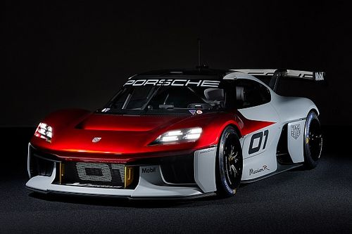 Porsche reveals 1000bhp electric sportscar Mission R concept