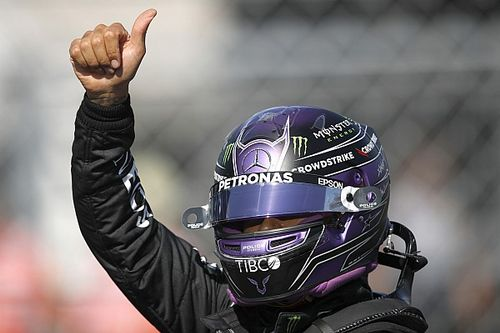 """Hamilton: Boos from crowd after Hungarian GP pole """"fuel me"""""""