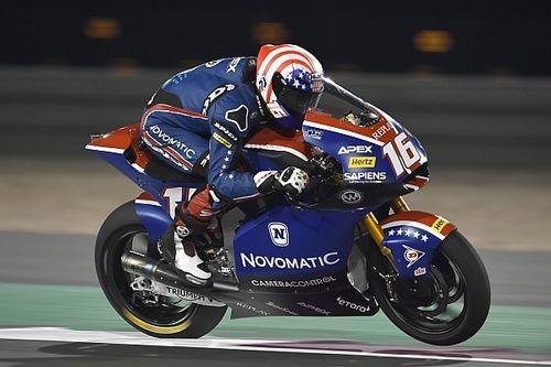 Qatar Moto2: Roberts breaks lap record in practice