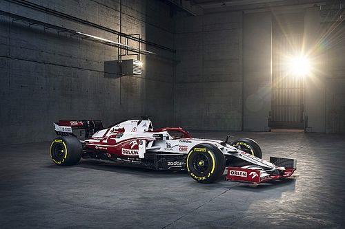 Alfa Romeo dévoile sa nouvelle F1 pour 2021