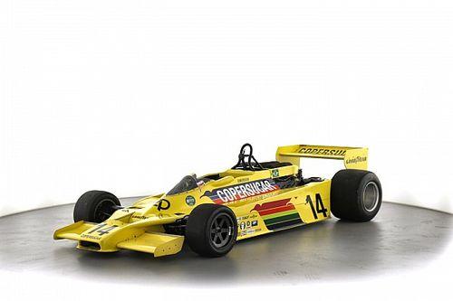 Une F1 Copersucar d'Emerson Fittipaldi est en vente