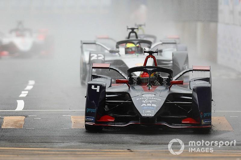 Hong Kong E-Prix: Frijns quickest in rain-affected practice