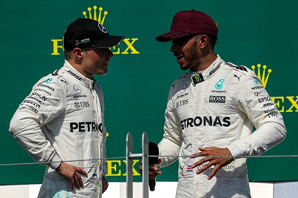 Формула 1 Новость Хэмилтон: Боттас заслужил право остаться в Mercedes