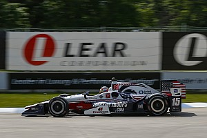 IndyCar Qualifiche Rahal approfitta della penalità a Castroneves e centra la pole a Detroit