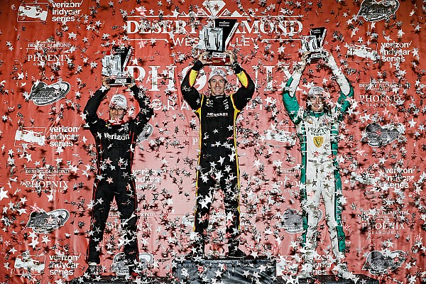 IndyCar Hildebrand thrilled with first top-three finish for six years