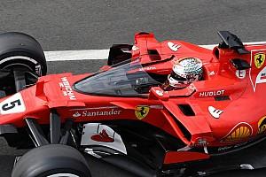 Formel 1 Fotostrecke Bildergalerie: Sebastian Vettel testet F1-Cockpitschutz Shield