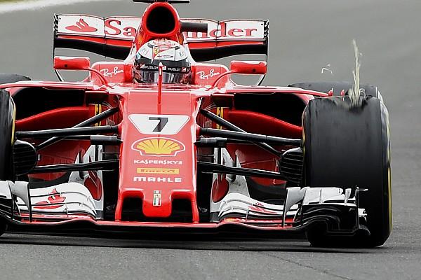 Formula 1 Breaking news Kerusakan eksternal jadi penyebab masalah ban Raikkonen