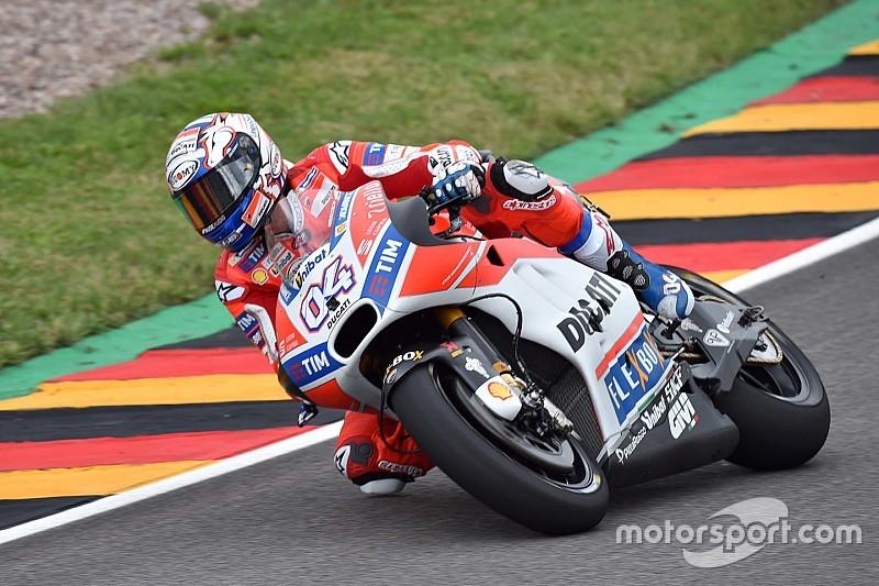 【MotoGP】ドイツFP1:ドヴィツィオーゾ首位。ロッシはトラブル