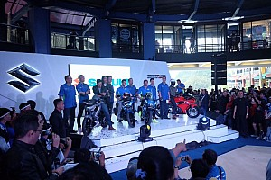 Other bike Breaking news Iannone-Rins meriahkan launching Suzuki GSX-R150 dan GSX-S150