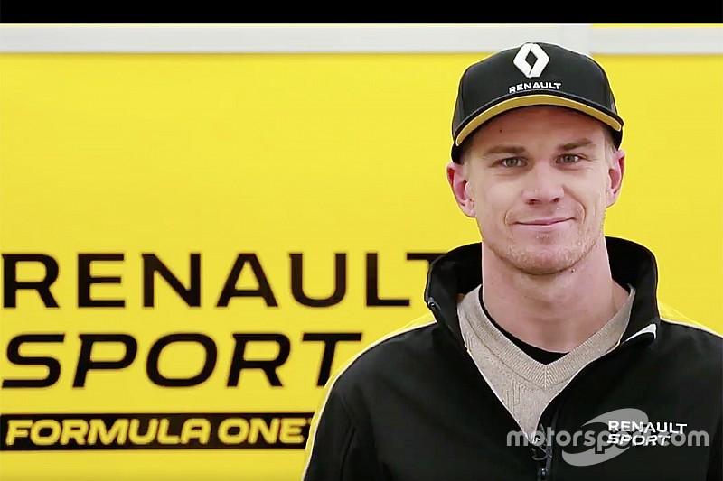【F1】ルノー、ヒュルケンベルグとの強固な関係構築を目指す